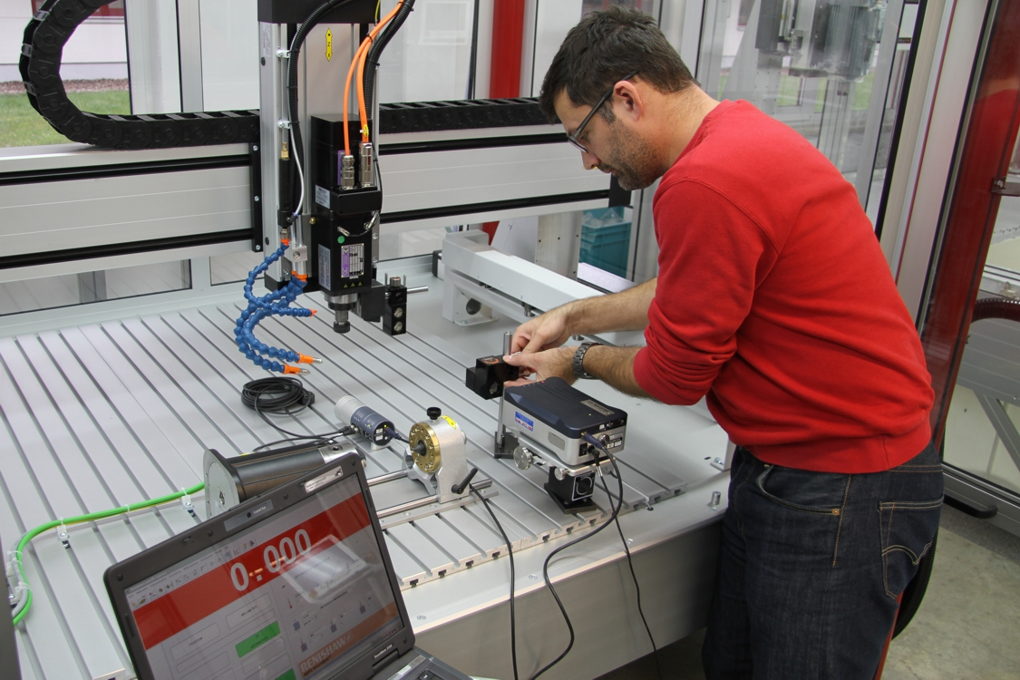 XL-80 laser interferometer