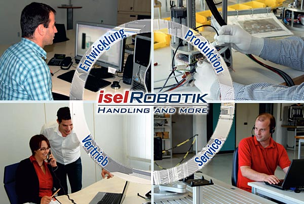 iselRobotik - Handling and more