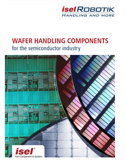 "Revised catalogue ""Wafer Handling components for the semiconductor industry"" as PDF file"
