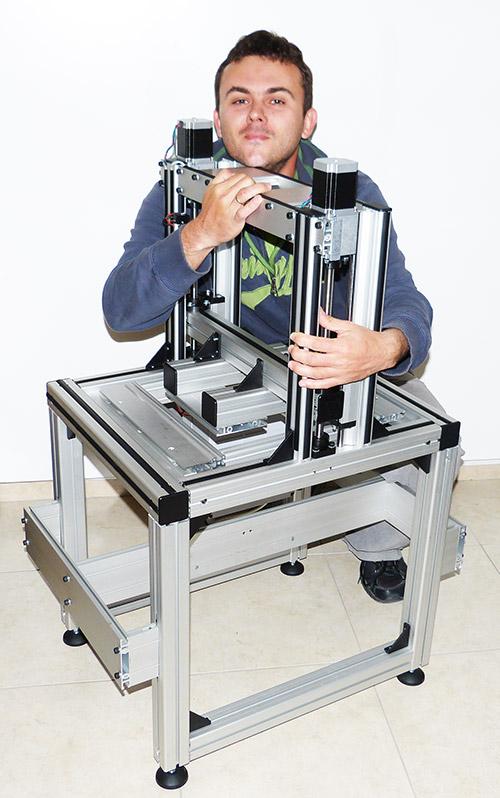 3D-Drucker mit isel Kugelgewindespindeln