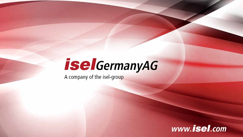 Presentation isel Germany AG