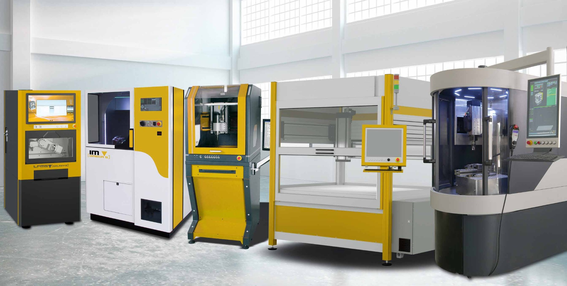 CNC machines for laser technology